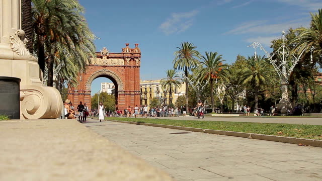 Barcelona Katalonien Arc triomf