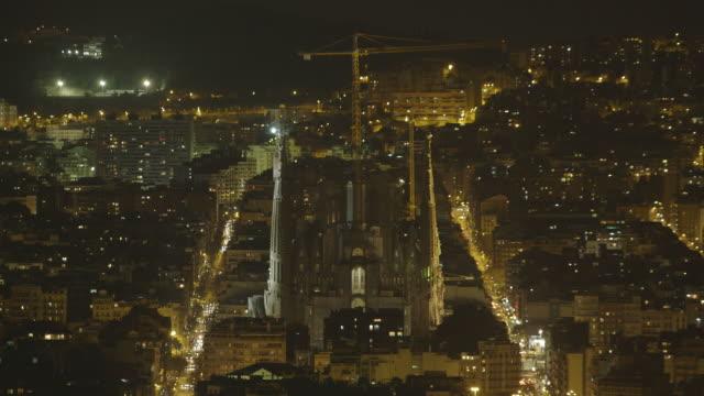 Barcelona City Night Timelapse