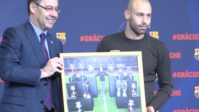 FC Barcelona makes official the march of Javier Mascherano