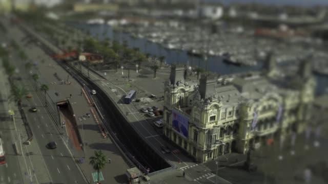 vídeos de stock e filmes b-roll de barcelona port 2 - porto de barcelona