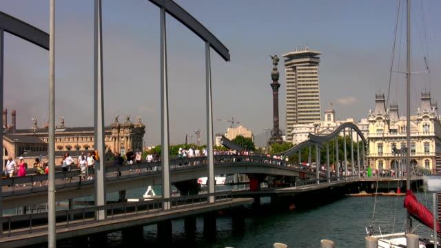 vídeos y material grabado en eventos de stock de deporte al puerto de barcelona - sistema digestivo humano
