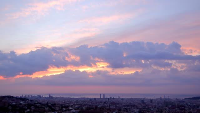 Barcelona sunrise - October the first 2018