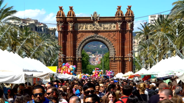 Barcelona, time lapse