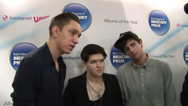 barclaycard mercury prize nominations at london england. - croft stock videos & royalty-free footage