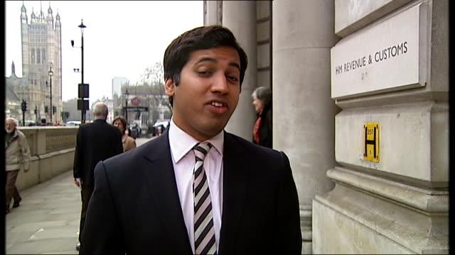 stockvideo's en b-roll-footage met barclays bank accused of tax avoidance england london david gauke mp interview sot - vermijden