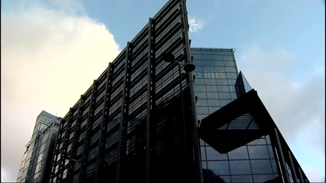 barclays bank accused of tax avoidance gvs rbs headquarters - avoidance stock videos & royalty-free footage