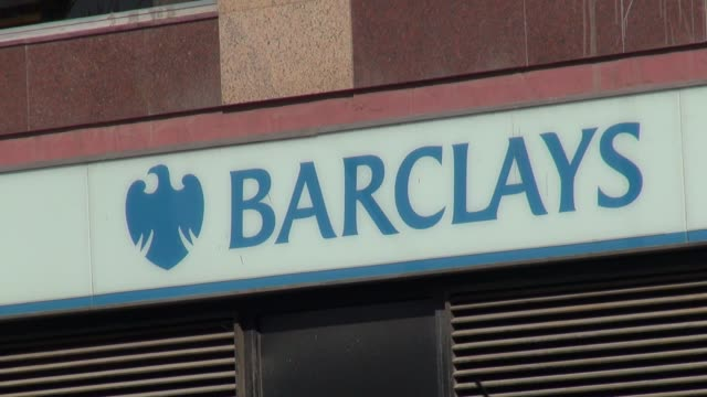 barclays hits expats in southern spain by announcing more branch closures andalusia barclays bank at estepona on july 29 2013 in estepona spain - hypotheken kündigung stock-videos und b-roll-filmmaterial