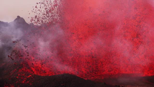 Bardarbunga : volcano eruption and lava flow (2014)