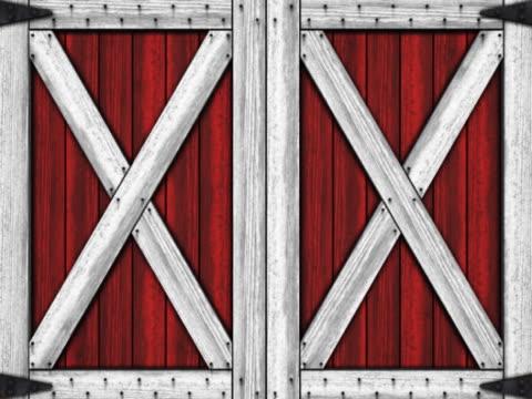 barn doors. - barn stock videos & royalty-free footage