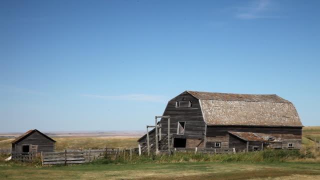A barn on a farm