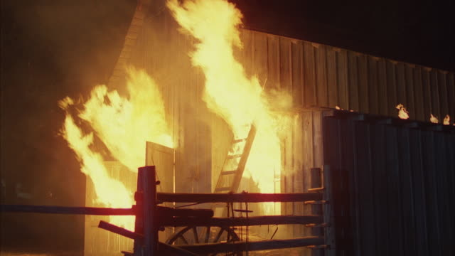 ms barn on fire - barn stock videos & royalty-free footage