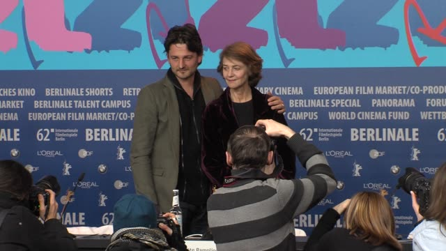 barnaby southcombe, charlotte rampling at i, anna press conference: 62nd international film festival 2012 at the grand hyatt on february 12, 2012 in... - charlotte rampling stock videos & royalty-free footage