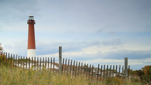 barnegat lighthouse - water's edge stock videos & royalty-free footage