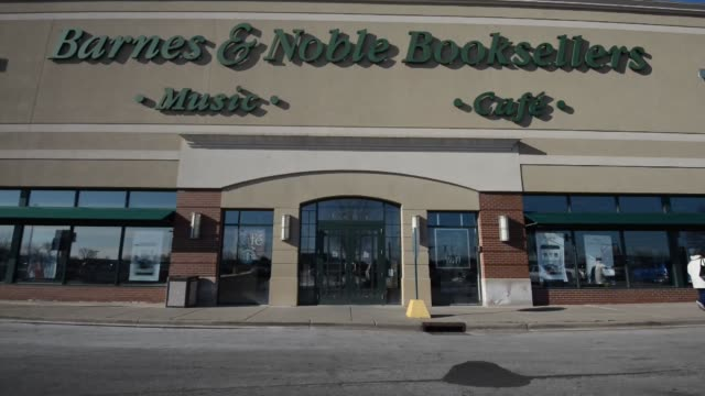 barnes and noble barnes and noble exterior clean barnes and noble signage broll on january 04 2013 in princeton illinois - barnes & noble stock videos & royalty-free footage