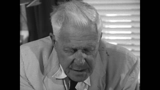 barnes wallis doesn't wish to recall the memories of learning that some dam buster pilots died during the mission to destroy germany's dams using his... - studying stock videos & royalty-free footage