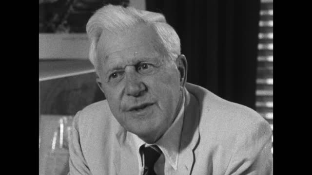 barnes wallis explains his reasons for being vegetarian as both for health reasons and avoiding meat as well as the hypocrisy of eating meat when he... - medium shot stock videos & royalty-free footage
