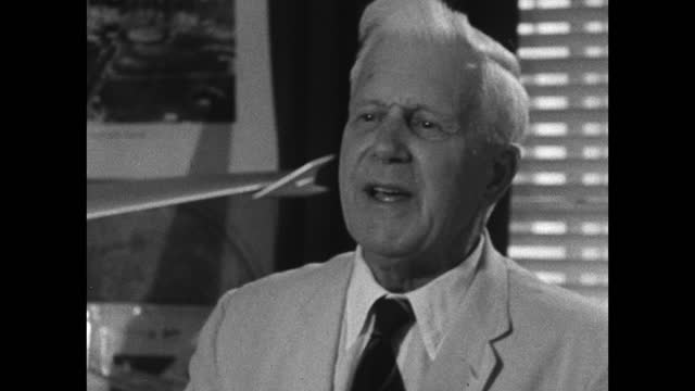 barnes wallis explains how his heuristic education led to learning how to design experiments and solve problems; 1967. - strategy stock videos & royalty-free footage