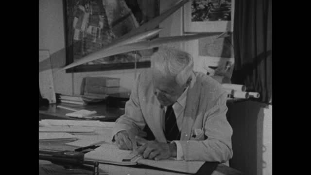 barnes wallis on fighting and battle being the joy of life, ; 1967. - resilience stock videos & royalty-free footage