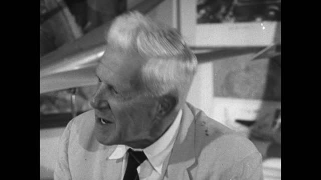 barnes wallis recalls how he took his engineering degree through distance learning within a few months, ; 1967. - information equipment stock videos & royalty-free footage
