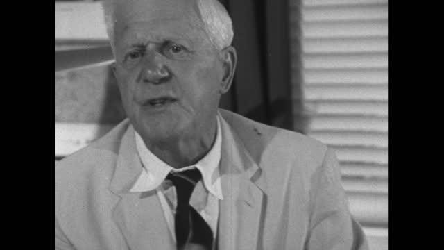 barnes wallis, speaking in 1967, on his belief that changes in technology and materials will allow for cheaper faster air travel. - medium shot stock videos & royalty-free footage