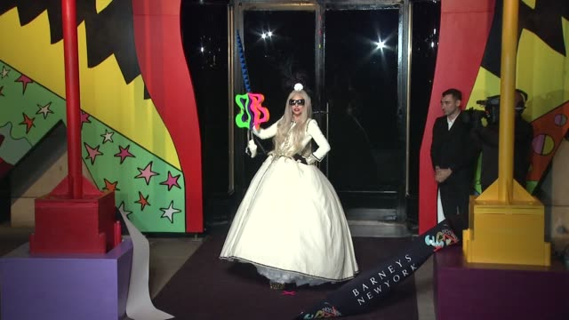 Barneys New York Celebrates The Launch Of Gaga's Workshop With Ribbon Cutting Ceremony New York NY United States