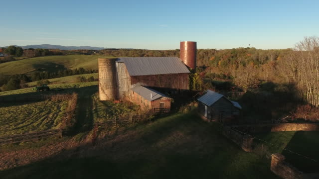 Barns in Rural America