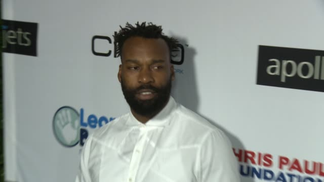 Baron Davis at The CP3 Foundation's Celebrity Server Dinner Hosted By Chris Paul in Los Angeles CA