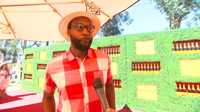 Baron Davis on what bring him to the Veuve Clicquot Polo Classic if he has ever been to a polo match before if he would consider playing polo during...