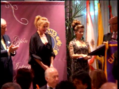 baroness carmen thyssen receives lion award. oviedo, spain . - baroness stock videos & royalty-free footage