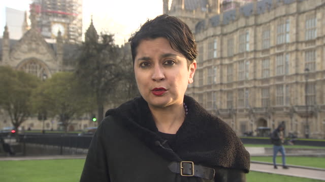 Baroness Chakrabarti saying it would have taken either 'the support of the security council' or 'overwhelming international community support' to...