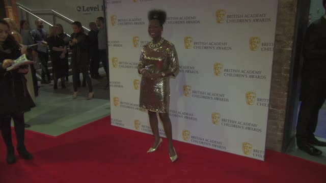 baroness floella benjamin at the british academy children's awards at the british academy children's awards at the roundhouse on november 22 2015 in... - floella benjamin stock videos & royalty-free footage