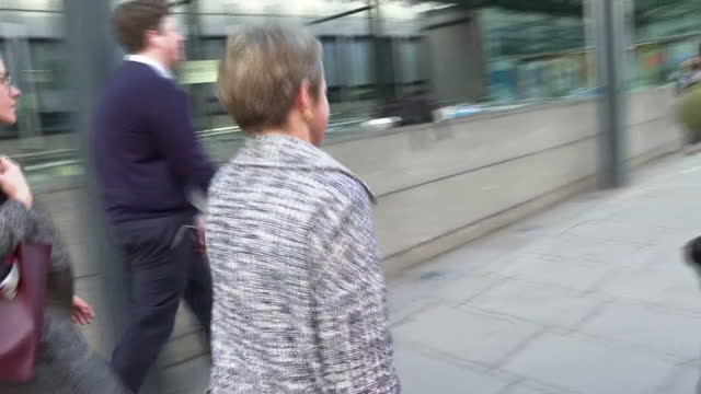 baroness harding walking to a select committee meeting - baroness stock videos & royalty-free footage