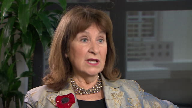 baroness helena kennedy qc saying women are now coming together to tackle sexual harassment in the workplace collectively - baroness stock videos & royalty-free footage