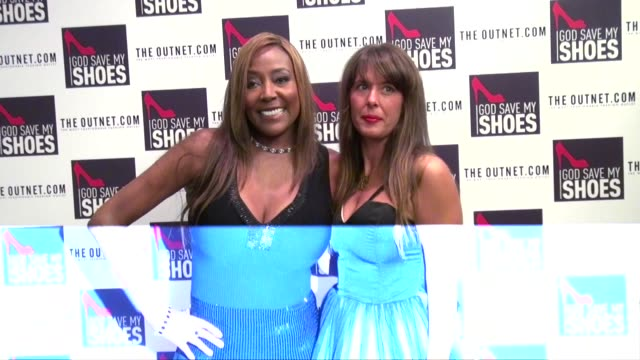 baroness monica von neuman and julie benasra at the god save my shoes premiere in new york city 09/07/11 - baroness stock videos & royalty-free footage