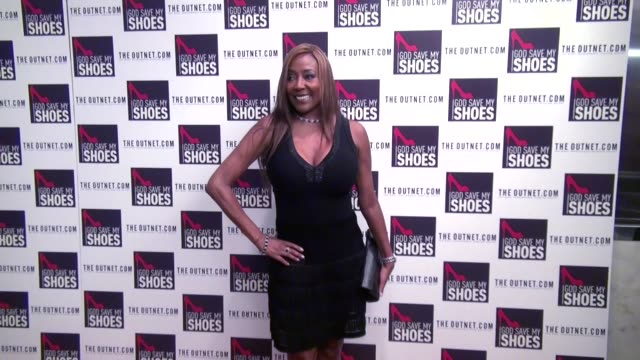 baroness monica von neuman at the god save my shoes premiere in new york city 09/07/11 - baroness stock videos & royalty-free footage