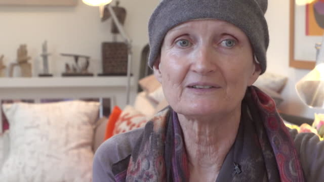 baroness tessa jowell saying she is 'not afraid' of the future following her cancer diagnosis - baroness stock videos & royalty-free footage