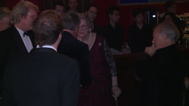 baroness trumpington at the spectator cigar smoker of the year awards on 16th november 2014 in london england - baroness stock videos & royalty-free footage