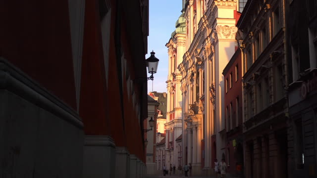 baroque collegiate church evening  - baroque stock videos & royalty-free footage