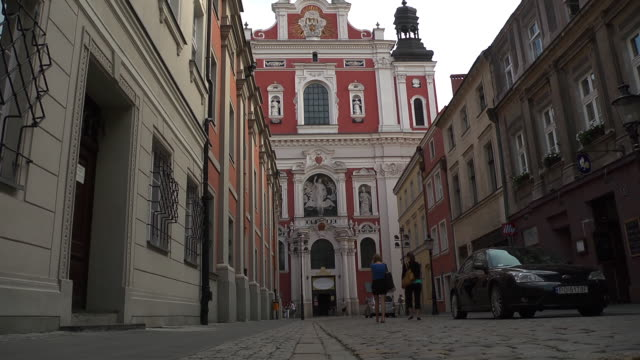 baroque collegiate church - baroque stock videos & royalty-free footage