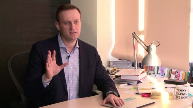 Barred from participating to the March 18 presidential election the Kremlin's top critic Alexei Navalny accuses Russian President Vladimir Putin to...