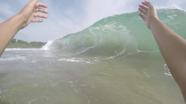 Barrelled By a Wave