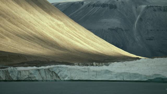 Barren Glacial Landscape On Devon Island
