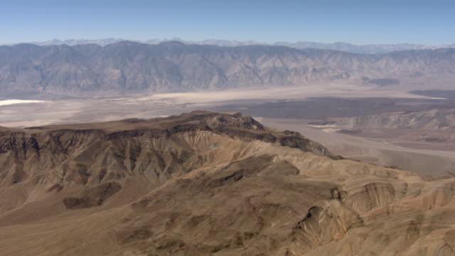 Barren mountains tower above Saline Valley in Death Valley National Park.