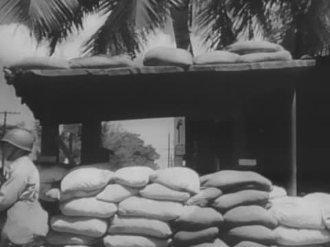 barricade on honolulu street - oahu stock videos & royalty-free footage