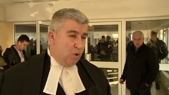 barrister lewis power qc defending the unnamed woman convicted of lying about being gang raped in cyprus saying she was left stranded with no support - reclining stock videos & royalty-free footage