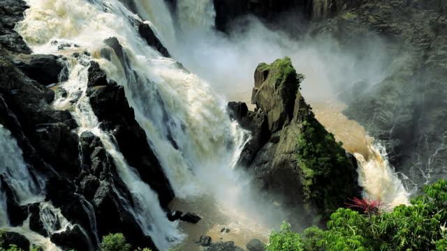 barron falls nr cairns, queensland, australia, southern hemisphere - southern hemisphere stock videos & royalty-free footage