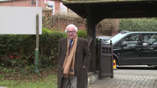 barry cryer on april 18, 2016 in london, england. - barry cryer stock videos & royalty-free footage
