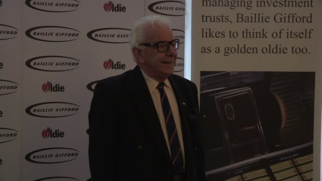 barry cryer - the oldie's at simpsons in the strand on february 12, 2013 in london, england - barry cryer stock videos & royalty-free footage