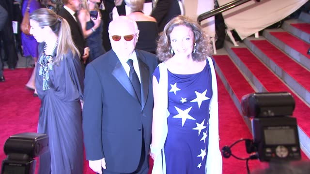 barry diller and diane von furstenberg at the 'american woman: fashioning a national identity' met gala - arrivals at new york ny. - barry diller stock videos & royalty-free footage