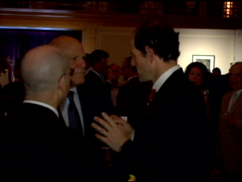 barry diller and eliot spitzer at the friends of the high line 6th annual summer benefit at cipriani wall street in new york, new york on june 21,... - barry diller stock videos & royalty-free footage